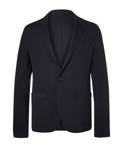 Wooyoungmi | Midnight Unstructured Stretch-Jersey Suit Jacket