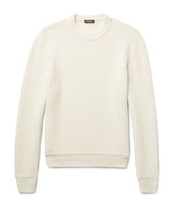 BERLUTI | Textured-Knit Cashmere Sweater