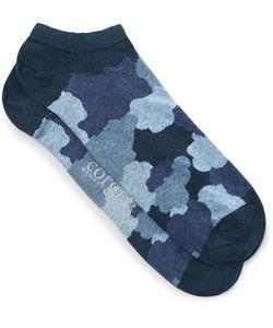 Corgi | Camouflage-Print Cotton-Blend Socks