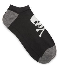 Corgi | Skull-Patterned Cotton-Blend Socks