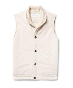 Private White V.C. | Cotton And Cashmere-Blend Moleskin Gilet