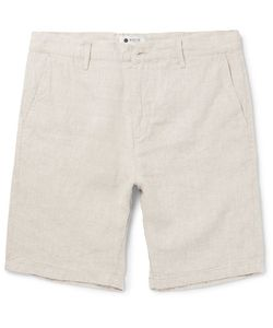 NN07 | Crown Slim-Fit Linen Shorts