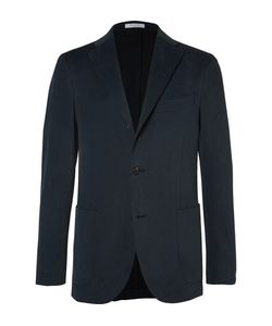 Boglioli | Slim-Fit Brushed Stretch-Cotton Twill Suit Jacket