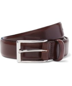 J.Crew | 3cm Glossed-Leather Belt