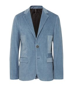 HELBERS | Slim-Fit Washed Cotton-Blend Corduroy Blazer