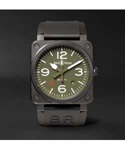 Bell & Ross | Br 03-92 Military Type 42mm Ceramic And