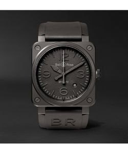 Bell & Ross | Phantom 42mm Ceramic And Rubber Watch
