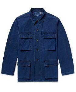 Blue Blue Japan | Dyed Cotton Shirt Jacket
