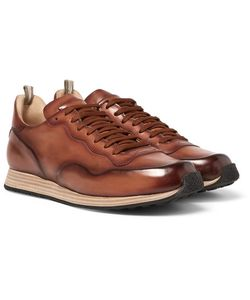 Officine Creative | Keino Polished-Leather Sneakers