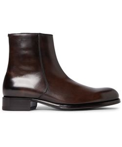Tom Ford | Edgar Burnished-Leather Boots