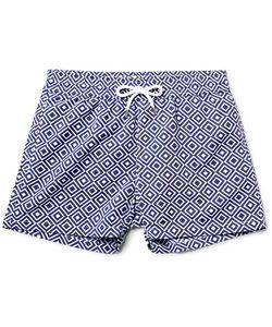 FRESCOBOL CARIOCA | Angra Slim-Fit Short-Length Printed Swim Shorts