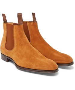 Kingsman | George Cleverley Jason Suede Chelsea Boots