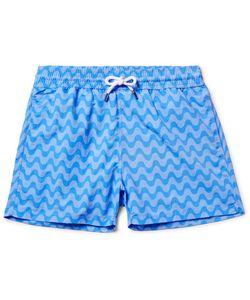 FRESCOBOL CARIOCA | Copacabana Slim-Fit Short-Length Printed Swim Shorts