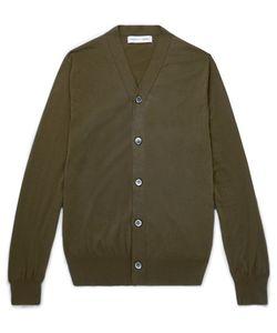 Comme Des Garcons | Comme Des Garçons Shirt Reverse-Seam Cotton Cardigan