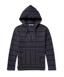 OUTERKNOWN | Happy Striped Organic Cotton-Twill Hoodie