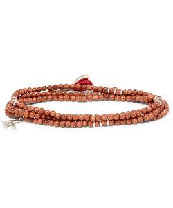 Isaia   Bead Wrap Bracelet