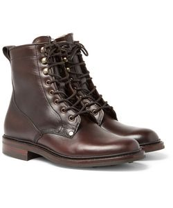 CHEANEY | Scott Shearling-Lined Leather Boots