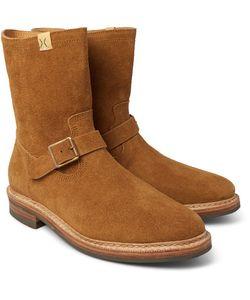 Visvim | Folk Brushed-Suede Boots