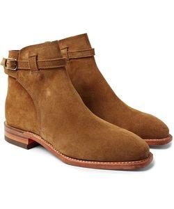 R.M.Williams | Stockman Suede Jodhpur Boots