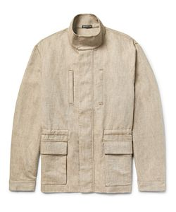 James Perse | Cotton And Linen-Blend Utility Jacket