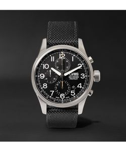 Oris | Pro Pilot Automatic Chronograph 44mm Stainless Steel And Canvas