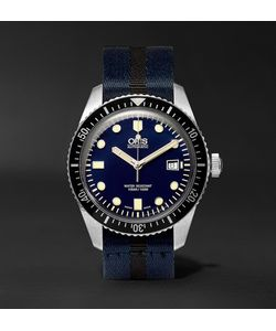 Oris | Divers Sixty-Five 42mm Stainless Steel And Canvas Watch