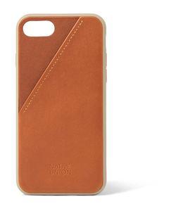 Native Union   Clic Card Leather Iphone 7 Case