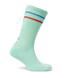 CAV EMPT | Ribbed Cotton-Blend Socks