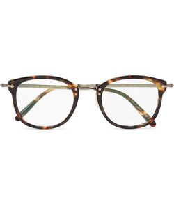 Oliver Peoples | Op-506 D-Frame Acetate And Burnishedtone Optical