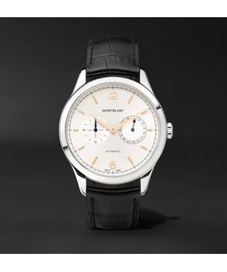 Mont Blanc | Heritage Chronométrie Twincounter Date Automatic 40mm Stainless Steel And