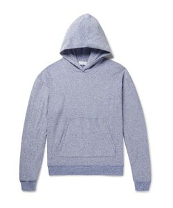 John Elliott | Pile Mélange Cotton-Blend Terry Hoodie