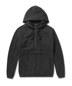 Beams | Ripstop-Panelled Cotton-Jersey Hooded Anorak