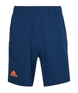 Adidas Sport | Barricade Bermuda Mesh-Panelled Climacool Tennis Shorts Storm