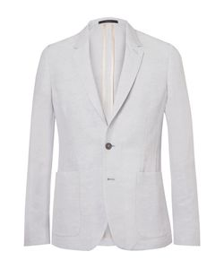 Paul Smith | Soho Slim-Fit Linen-Blend Suit Jacket Sky