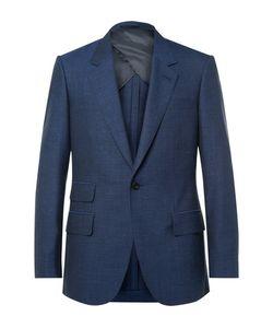 Kingsman | Eggsy Wool Silk Mohair And Linen-Blend Suit Jacket
