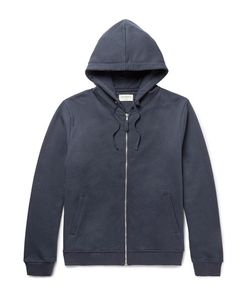 Oliver Spencer Loungewear | Fleece-Back Cotton-Jersey Hoodie