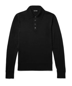 Tom Ford | Knitted Wool Polo Shirt