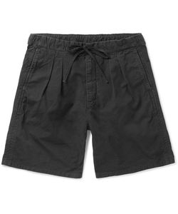 NONNATIVE | Farmer Cotton Drawstring Shorts
