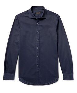 BERLUTI   Slim-Fit Cotton-Twill Shirt