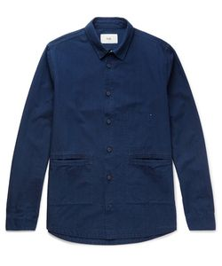 Folk | Cotton-Chambray Shirt