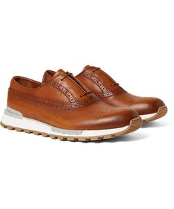 BERLUTI | Fast Track Polished-Leather Oxford Brogues