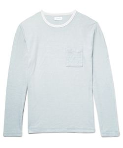 SATURDAYS NYC | James Field Textured-Cotton T-Shirt