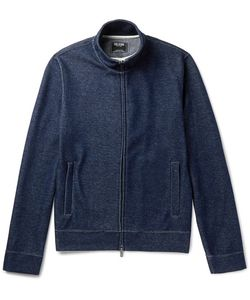 TODD SNYDER | Cotton-Blend Jersey Zip-Up Sweatshirt