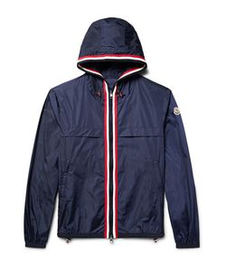 Moncler | Anton Webbing-Trimmed Nylon Hooded Jacket