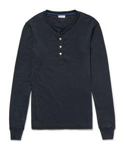 Schiesser | Karl Heinz Cotton-Jersey Henley Pyjama T-Shirt