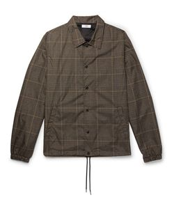 CMMN SWDN | Prince Of Wales Check-Printed Shell Jacket