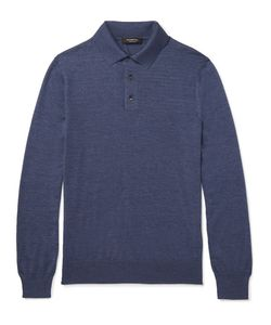 Ermenegildo Zegna | Cashmere And Silk-Blend Polo Shirt