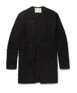BY WALID | Alex Crocheted Cotton Coat