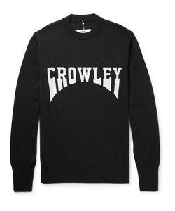 OAMC | Crowley Intarsia Virgin Wool Sweater