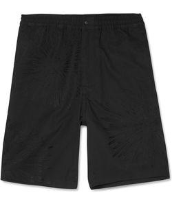 Sasquatchfabrix | Sasquatchfabrix. Fireworks Embroidered Cotton And Linen-Blend Shorts